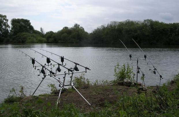 Rybářské revíry s ubytováním